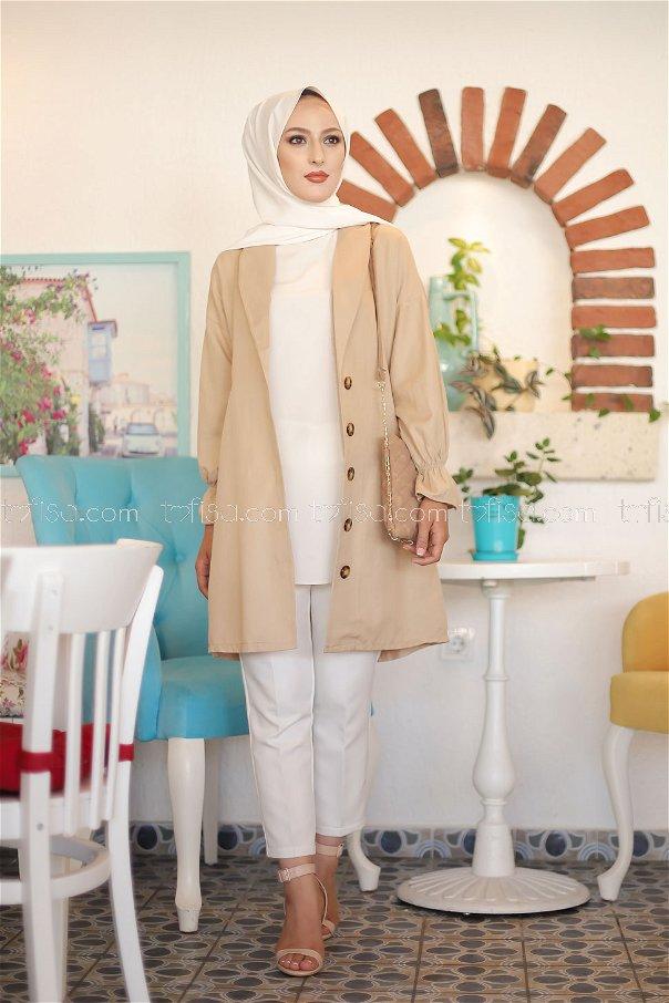 Jacket Beige - 3018