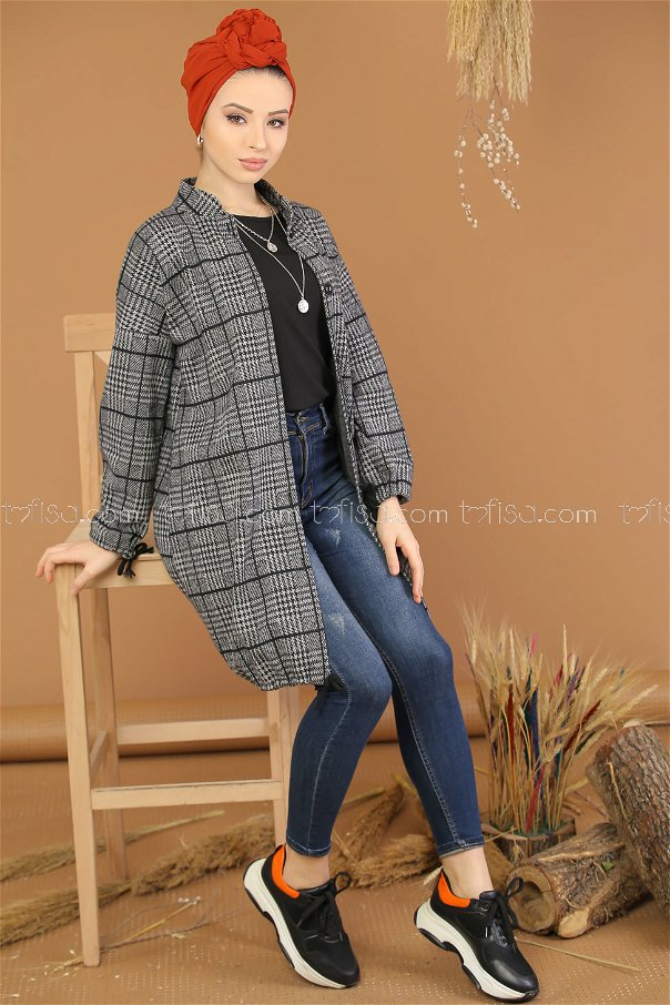 Jacket button gray - 5217