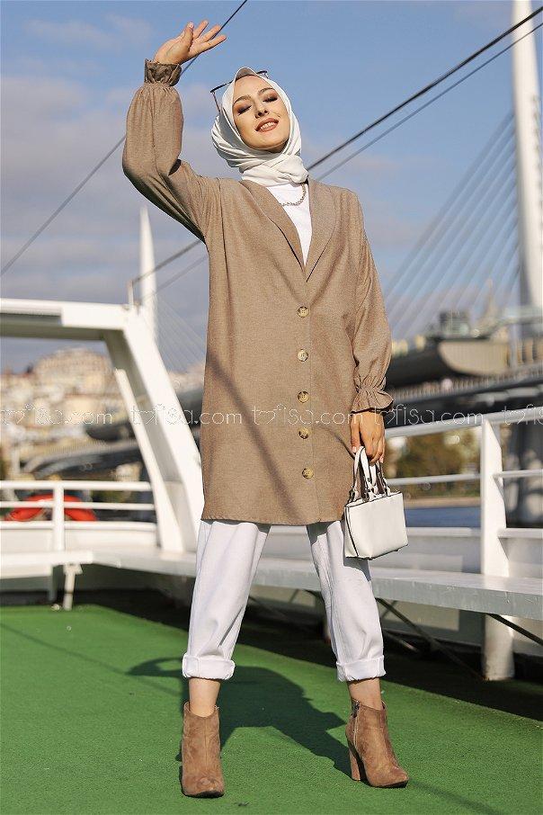 Jacket Light Brown - 3018
