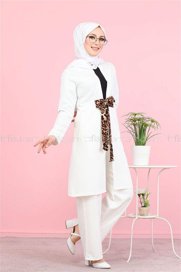 Jacket White - 3071