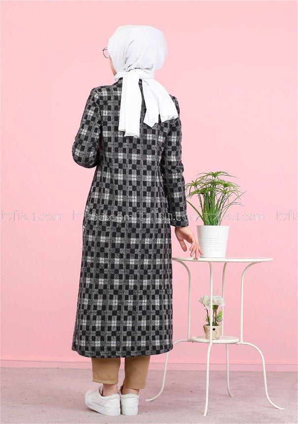 Jacquard Dress Grey - 8439