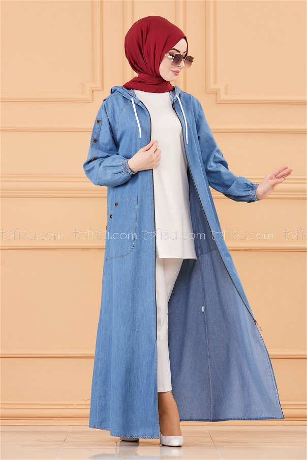 Jeans Abaya ICE BLUE - 20394