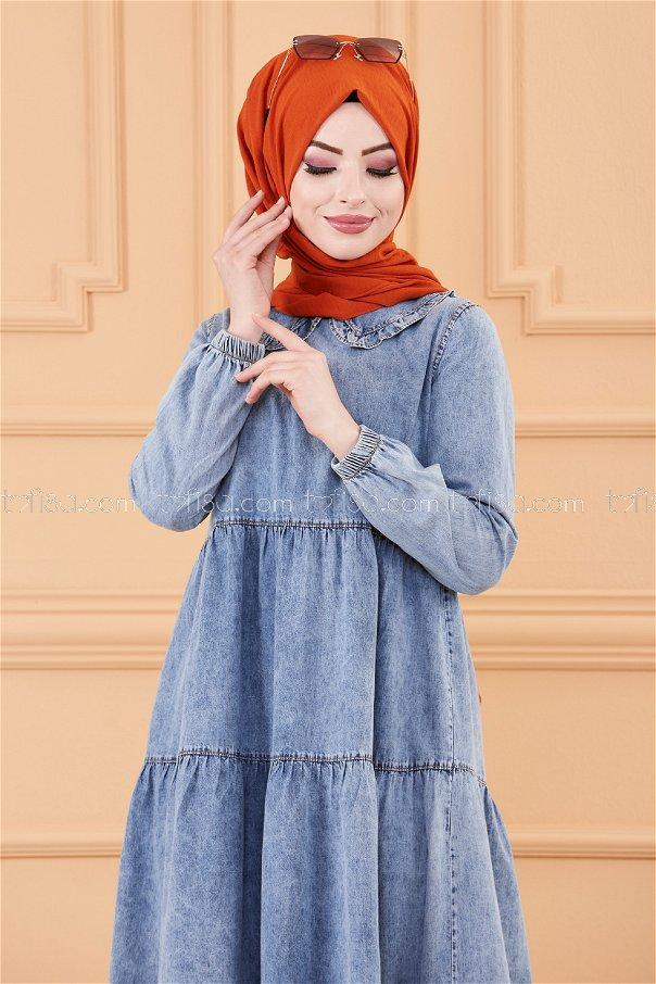 Jeans Dress BLUE - 20237