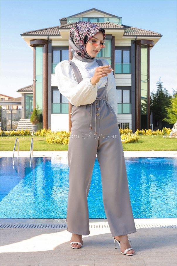 Jumpsuit Grey - 8552