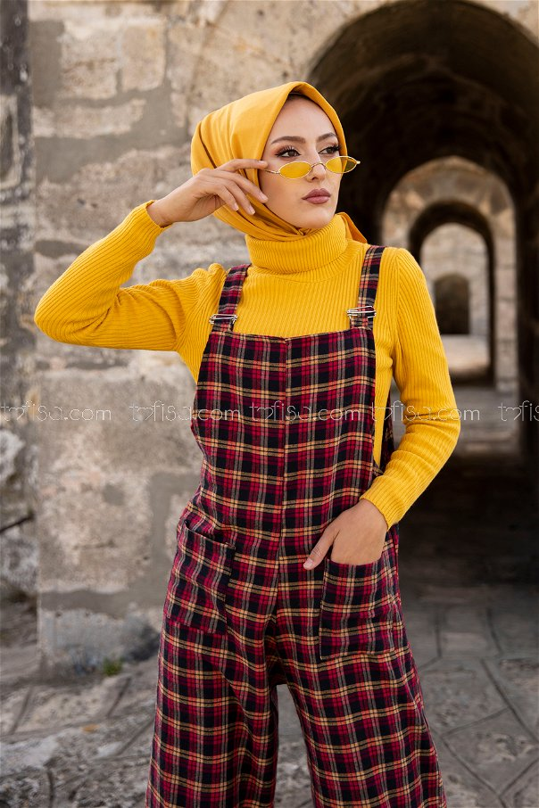 Jumpsuit Yellow Red - 3303