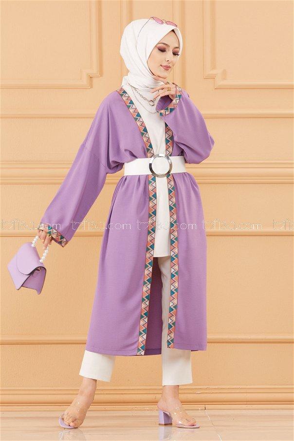 Kımono Ceket LILA - 20619