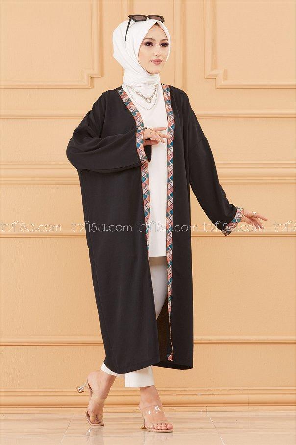 Kımono Ceket SIYAH - 20619