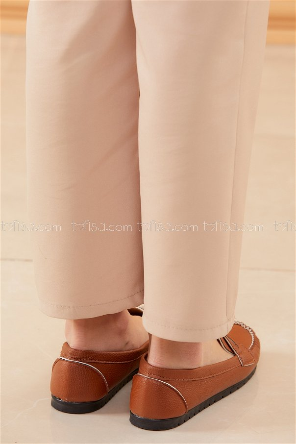 Klasık Babet Ayakkabı TABA - 20523
