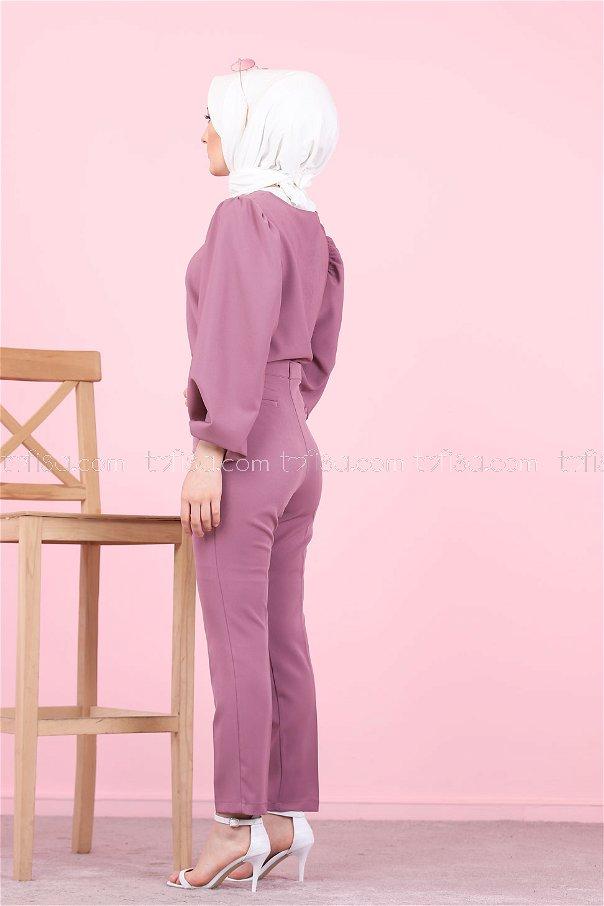 Klasik Pantolon Mürdüm - 8504