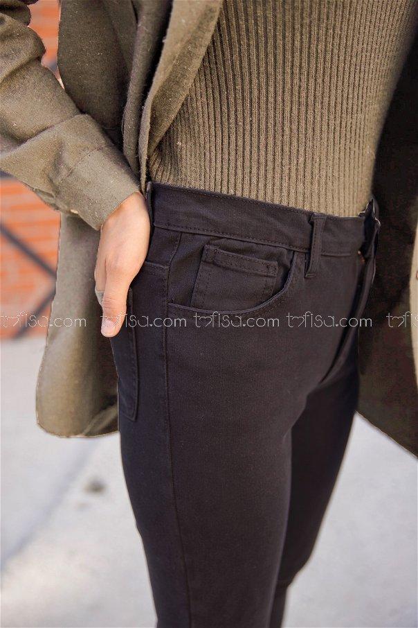 Kot Pantolon Siyah - 8621