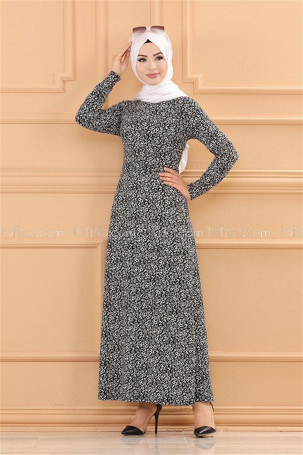 Elbise Siyah - 8485
