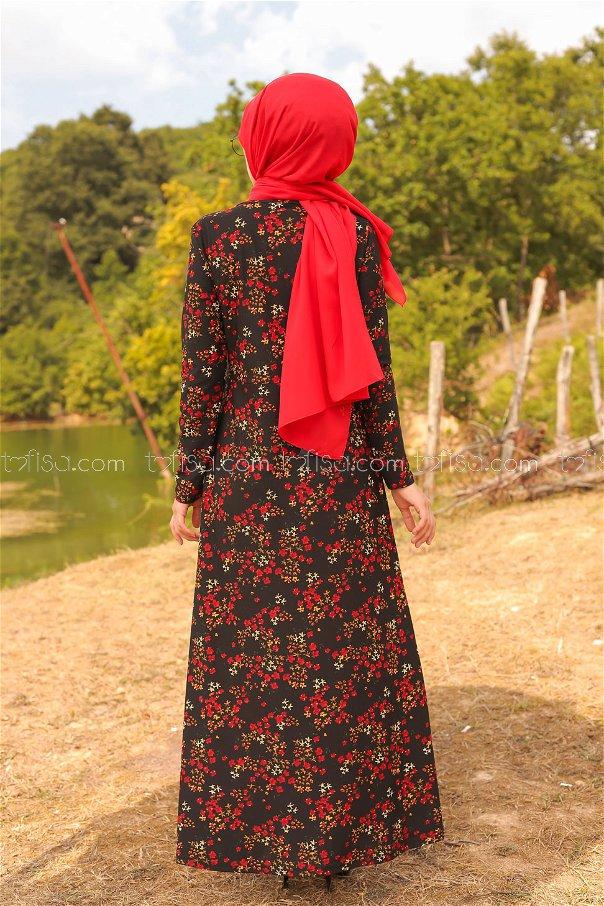 Elbise Siyah - 8487