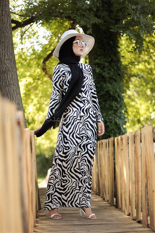 Elbise Siyah - 8553