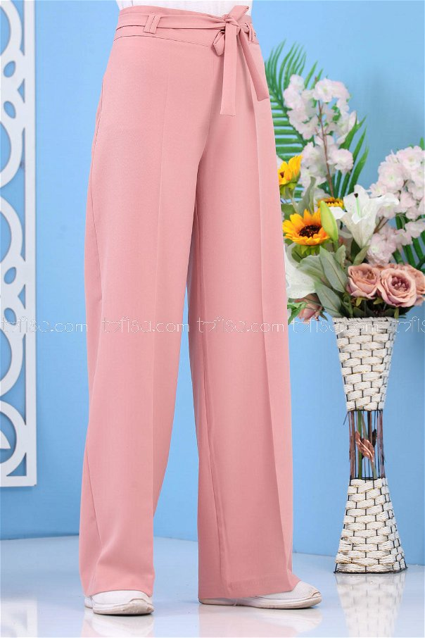 Loose Trousers - Powder Color 02 6396