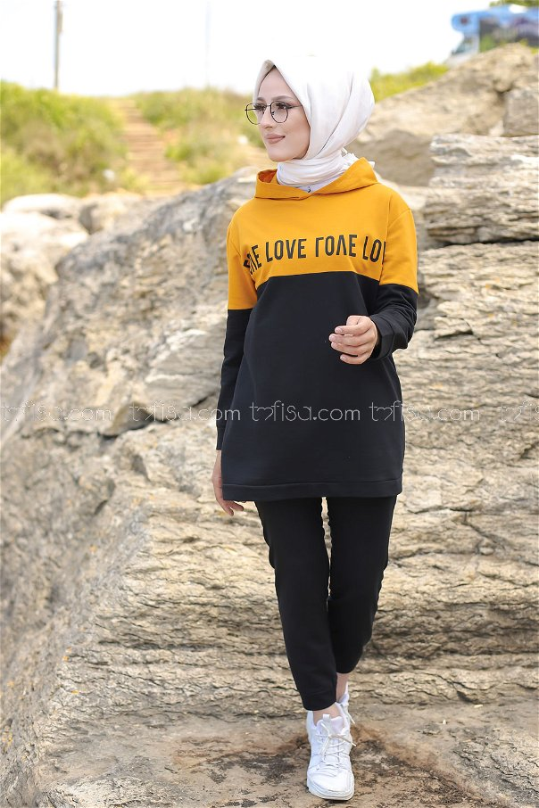 Love Tunik Pantolon Hardal - 8548