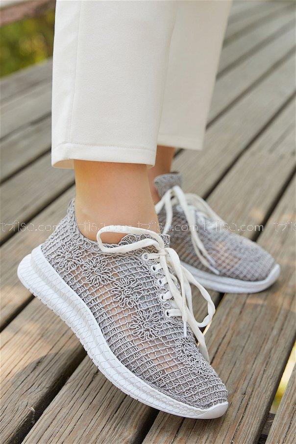 Mesh Shoes GRAY - 20138