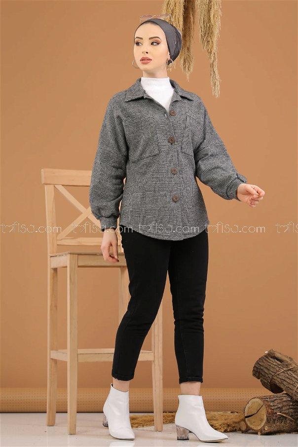Oduncu Gömlek Gri - 5228