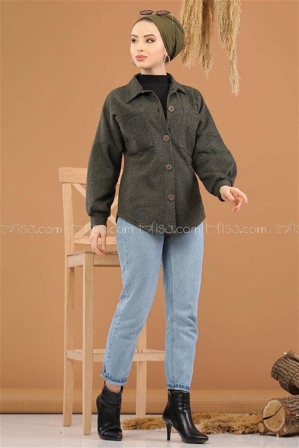 Oduncu Gömlek Haki - 5228