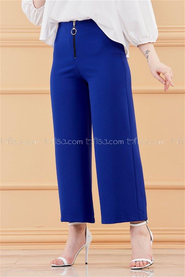 Ön Fermuarlı Pantolon SAKS - 3525