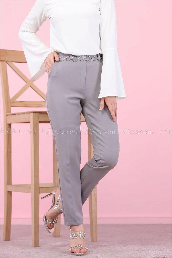 Pant Classic Grey - 8504