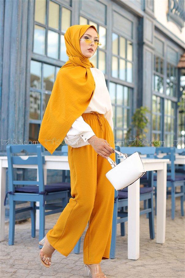 Pant Mustard - 3251