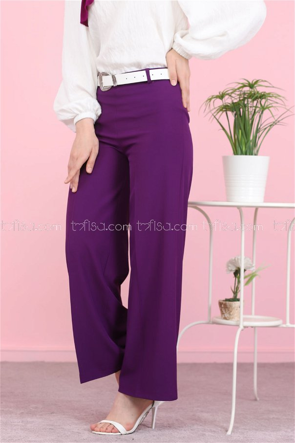 Pant Purple - 3101