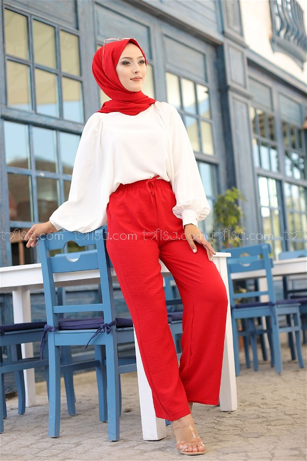 Pant Red - 3251