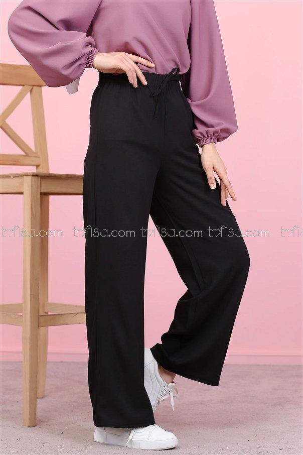 Pantolon Siyah - 3096