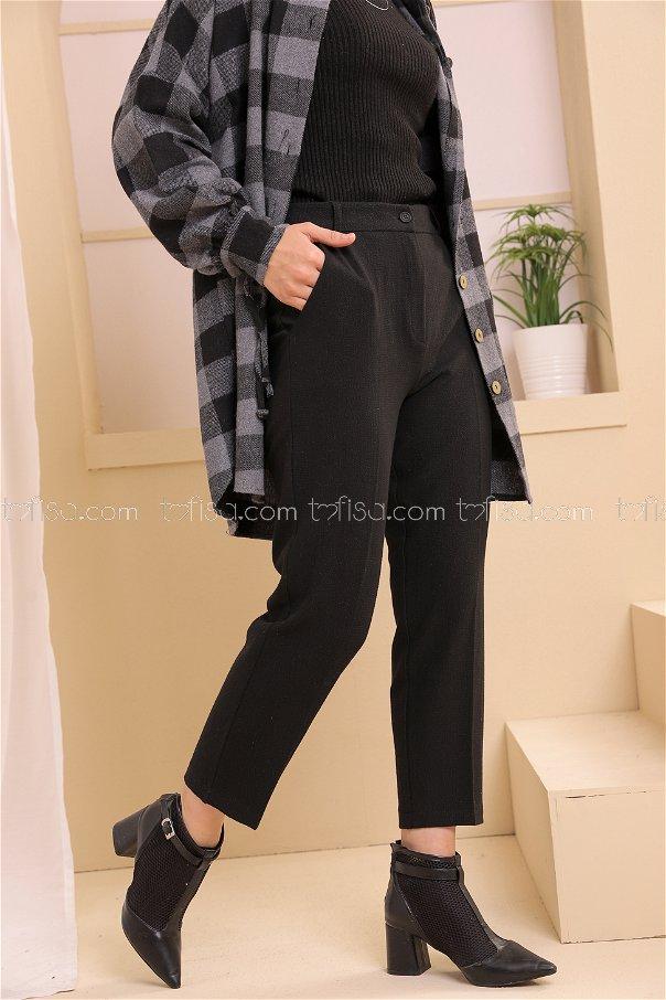 Pantolon Siyah - 8634
