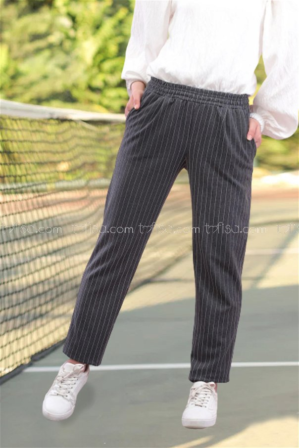 Pants Anthracite - 4143