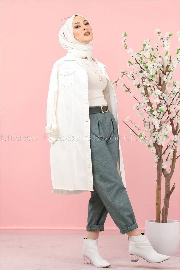 pants green - 3012