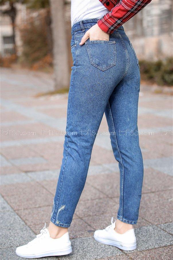 Pants jeans blue - 8303