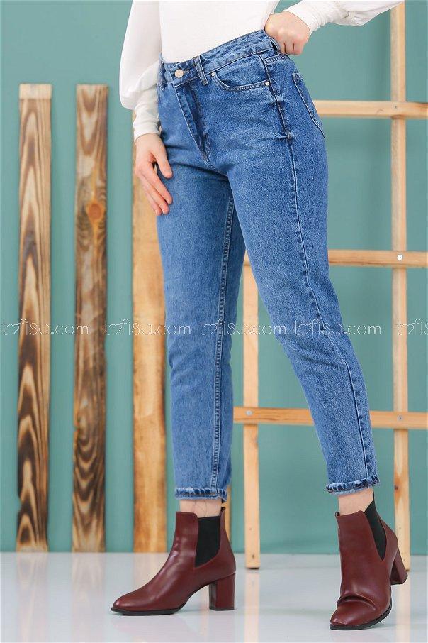 Pants jeans navy blue - 8297