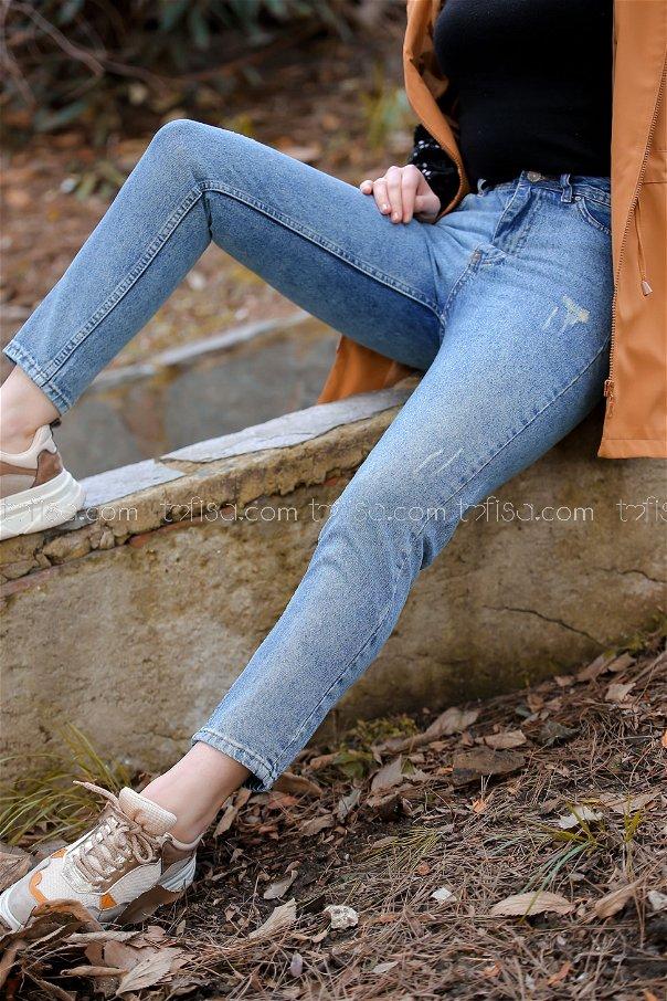 Pants jeans Snow blue - 8303