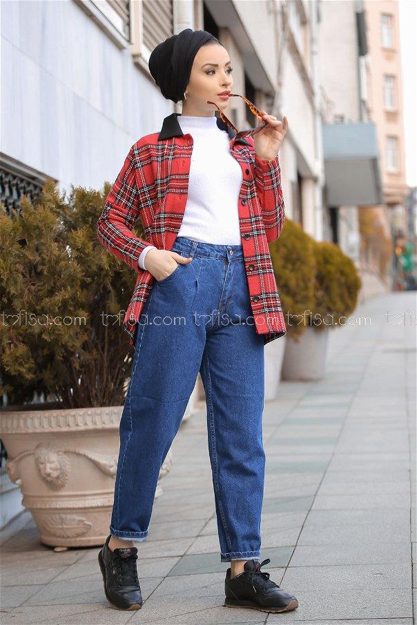 Pants jeans Wide blue - 8304