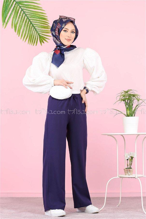Pants Navy Blue - 3096