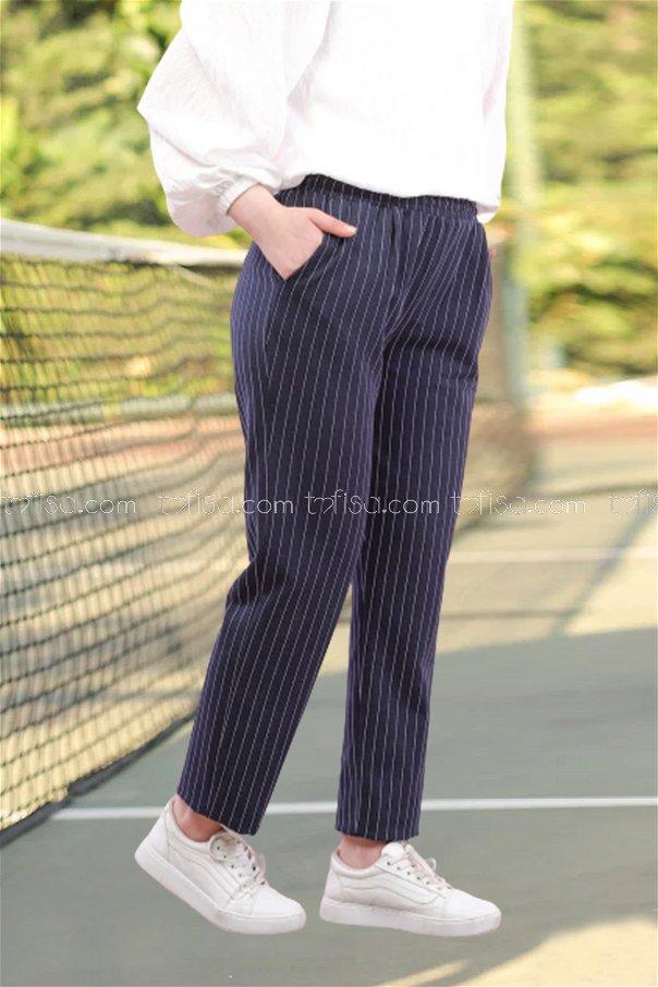 Pants Navy Blue - 4143