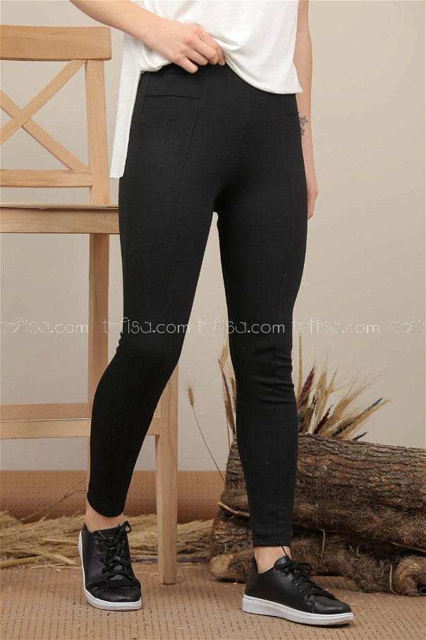 Pants Tights black - 7997