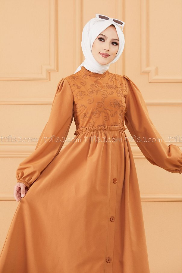 Patterned Dress TABA - 20163