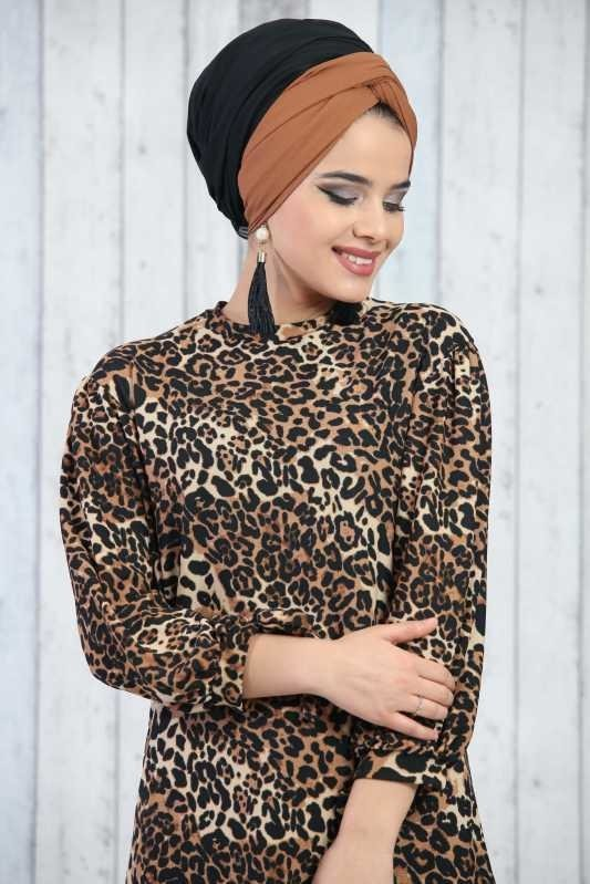 Patterned Tunic Leopard - 02 6633