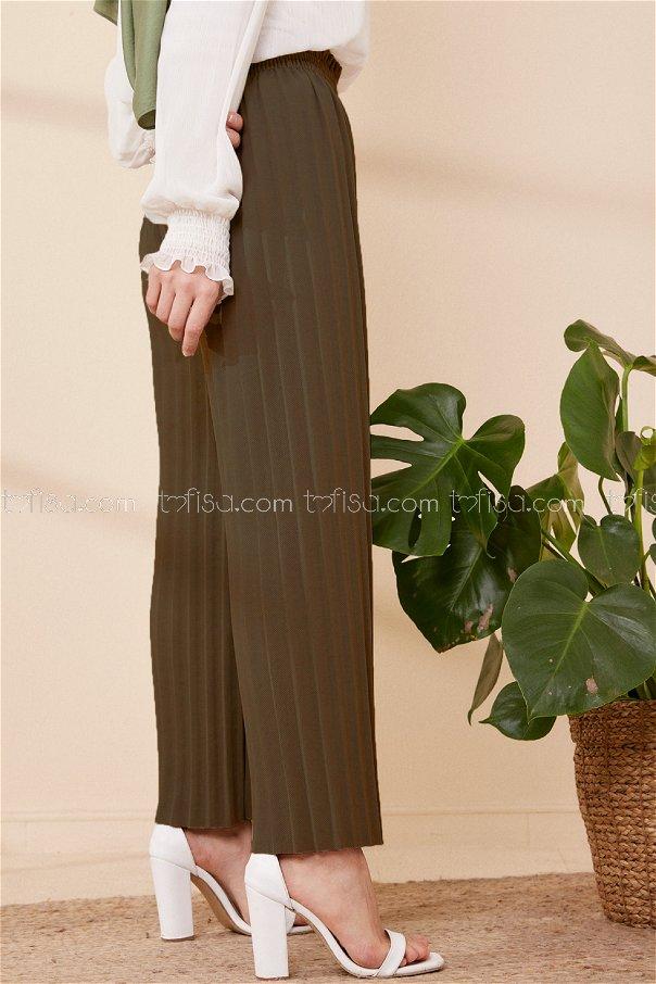 Pılıselı Pantolon Hakı - 3520