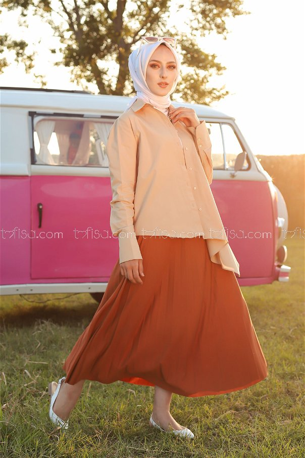 Pleated Skirt Tile - 3219