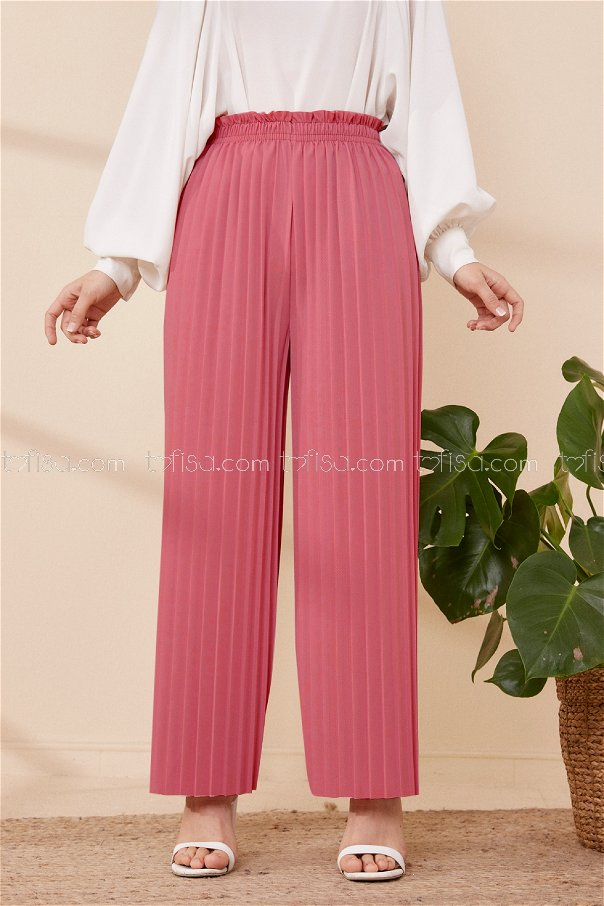 Pleated Trousers ROSE - 8705