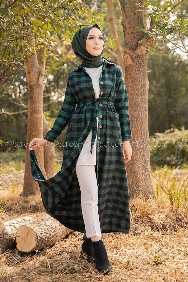 Pocket Dress Emerald - 3301