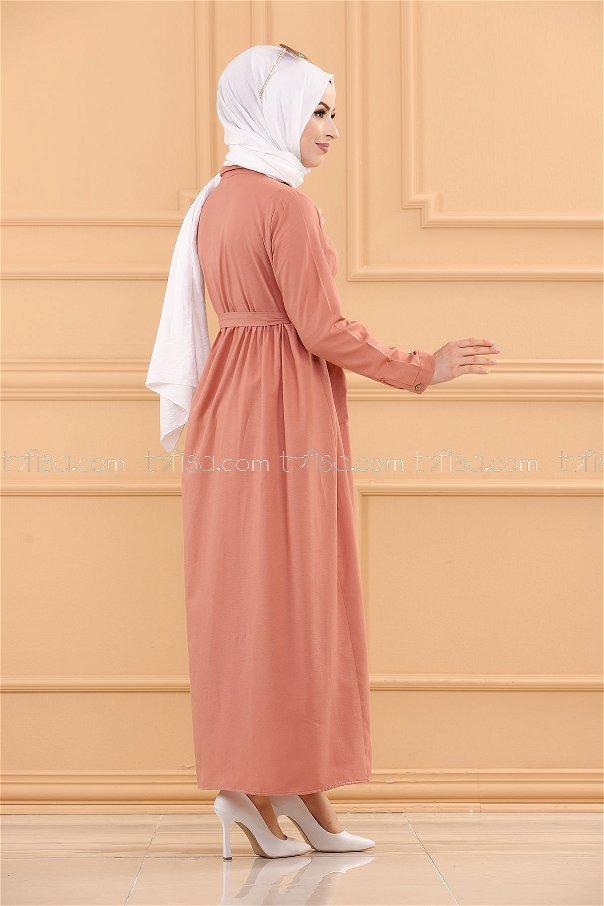Pocket Dress ROSE - 2696