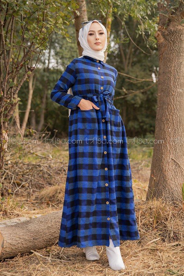 Pocket Dress Sax - 3301