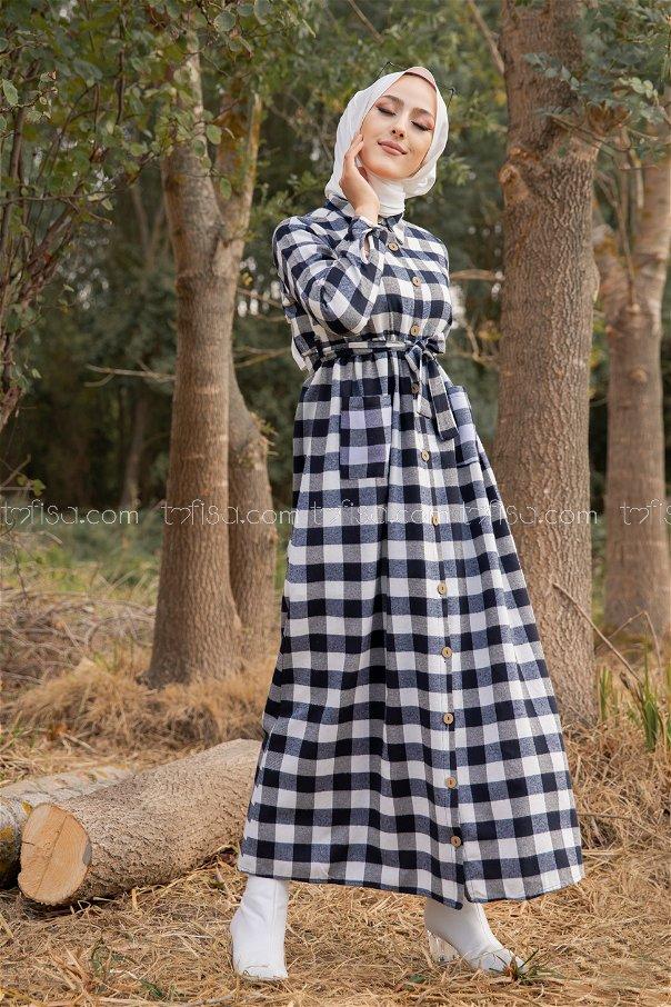Pocket Dress White - 3301