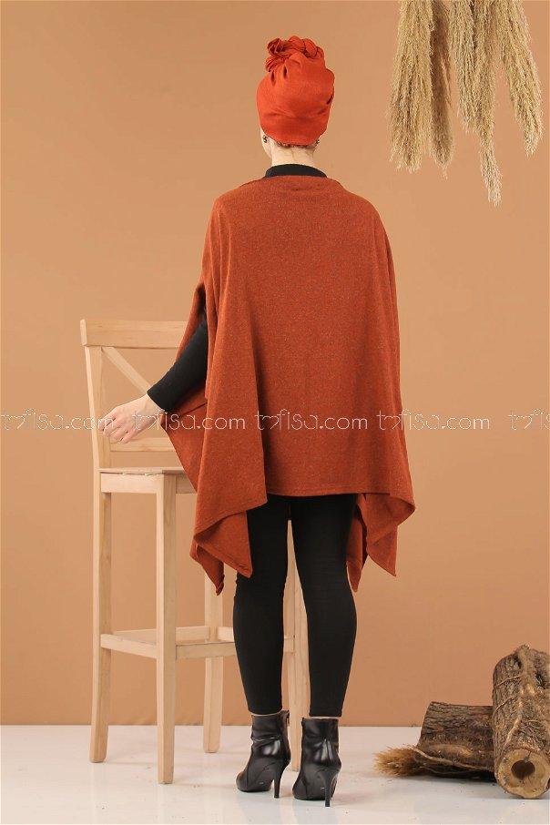 poncho Orange - 5242
