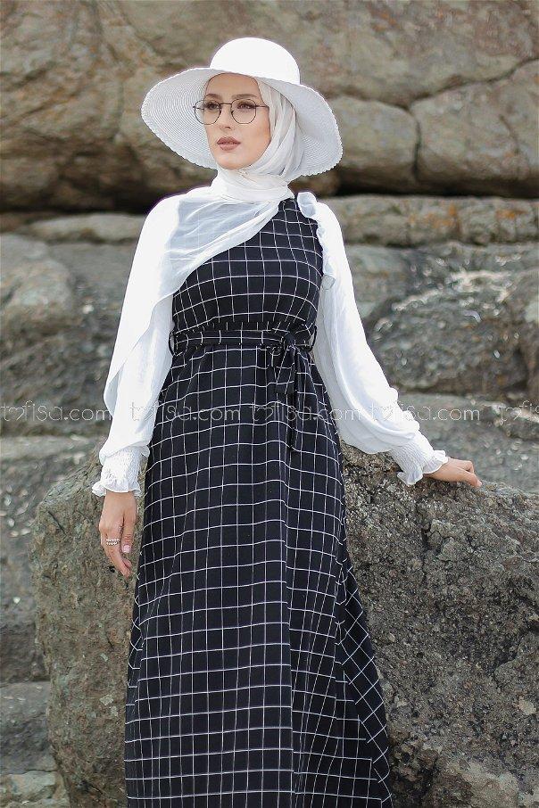 Elbise Siyah - 3229