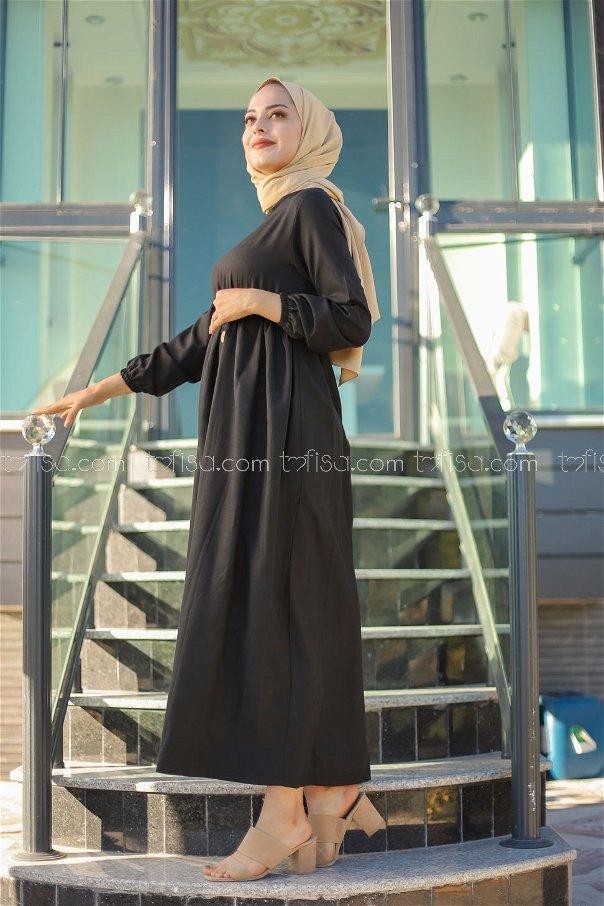 Elbise Siyah - 8369